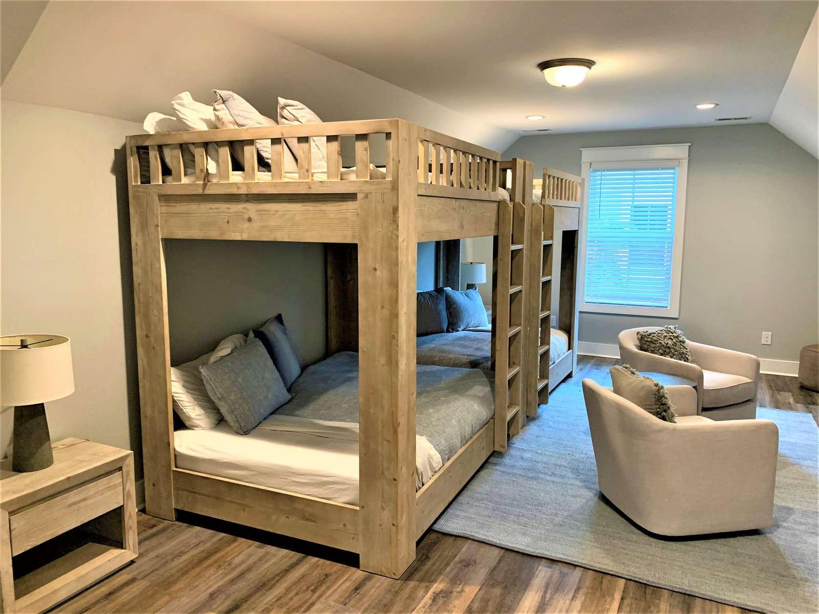 Custom Large Full Size Bund Beds