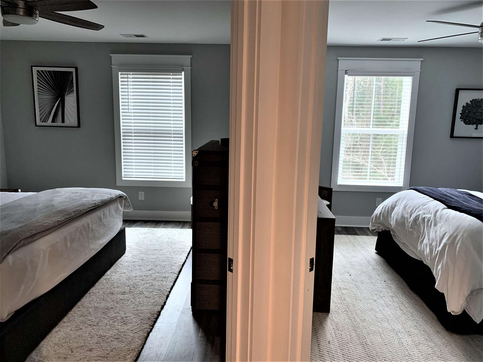 Two Bedrooms with Queen Beds on 2nd Level