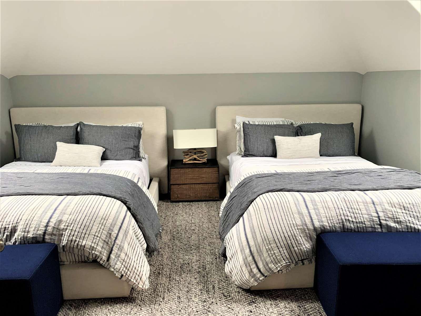 2 Queen Beds in 3rd Floor Bedroom