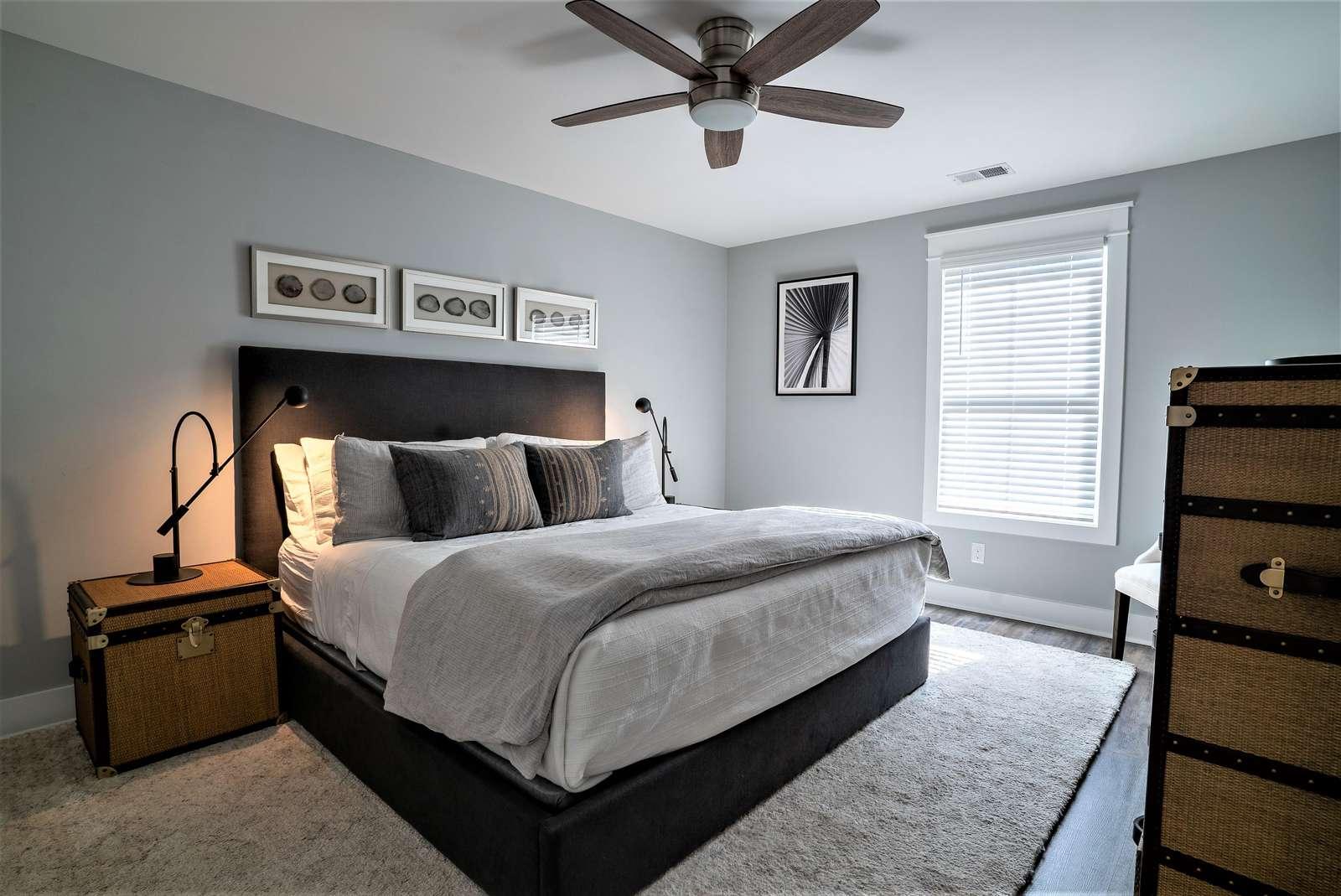 Queen Bedroom on 2nd Floor