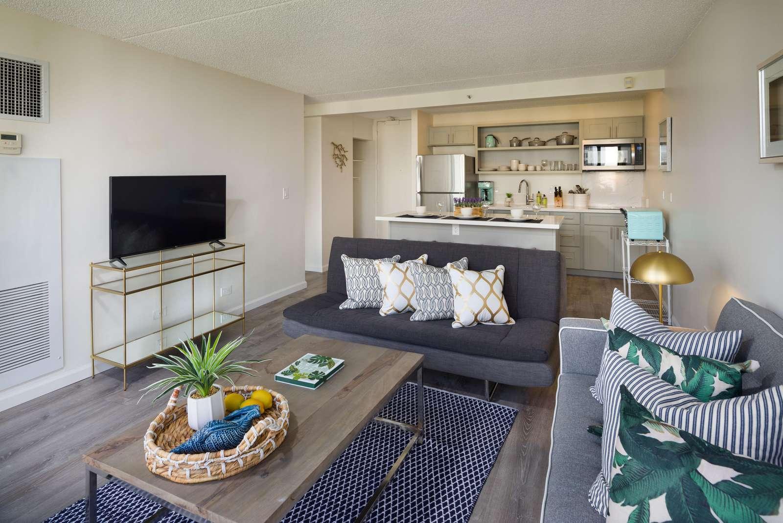 Splendid 1 bedroom at the Waikiki Sunset