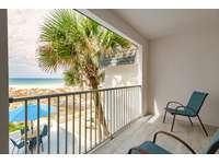 Private master balcony with amazing views! thumb