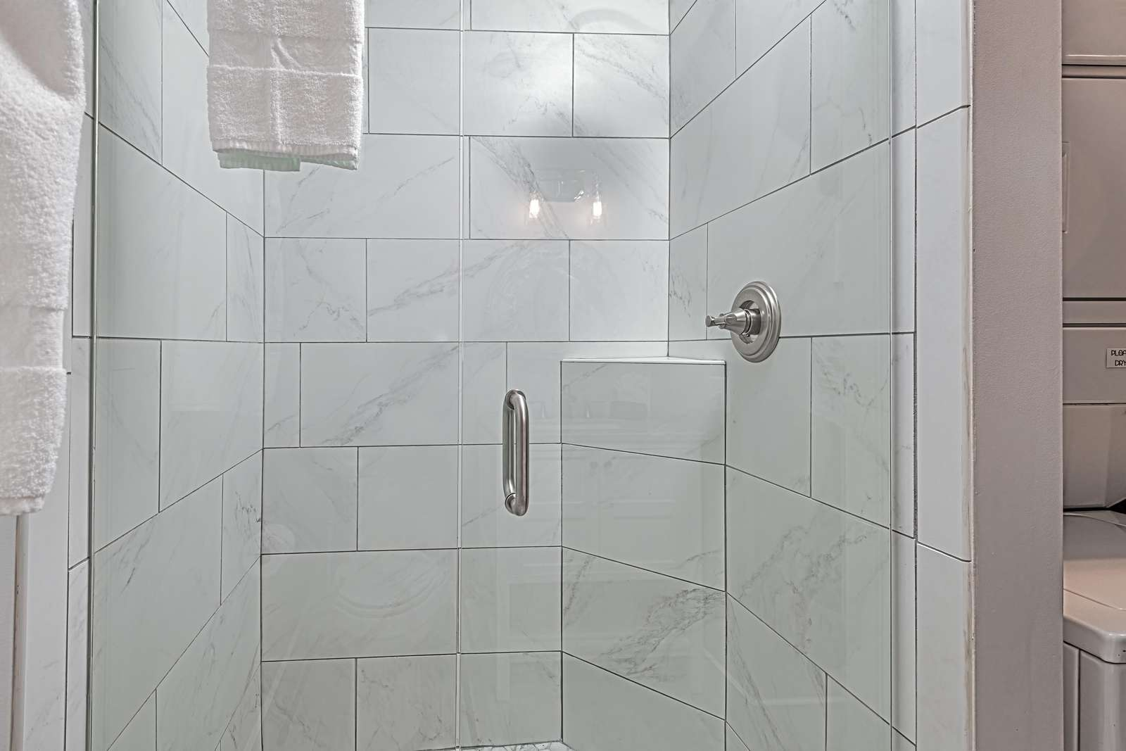Beautiful tiled showers throughout!