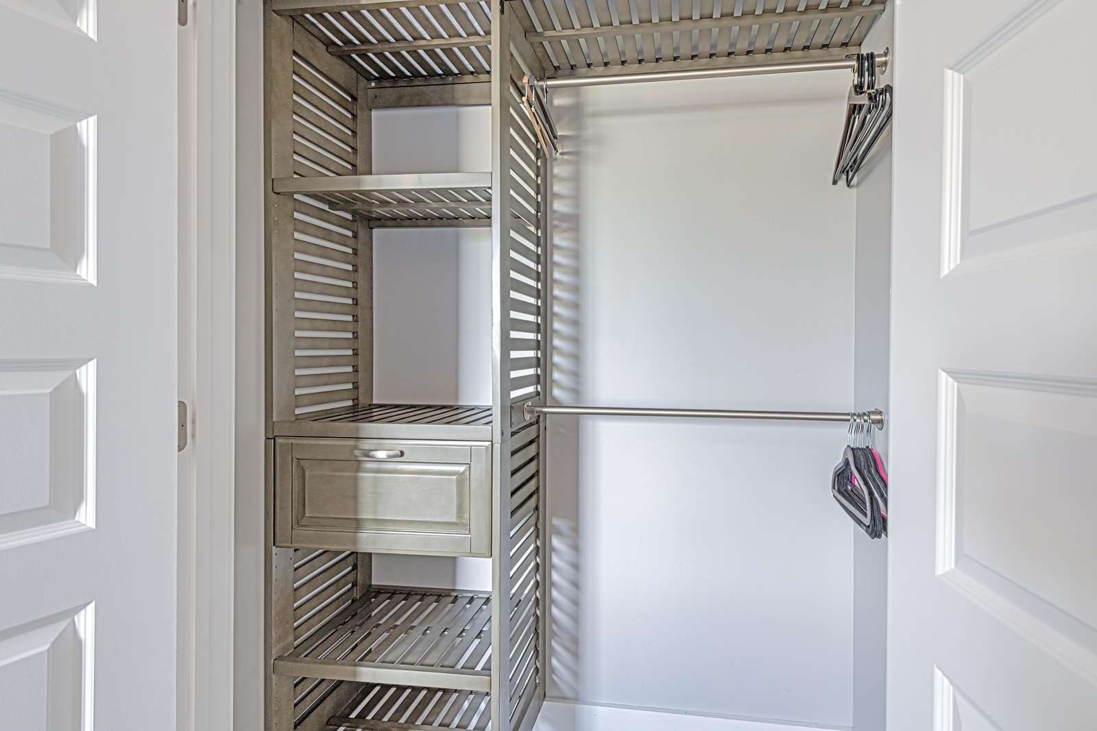 Built in shelving in all bedroom closets!