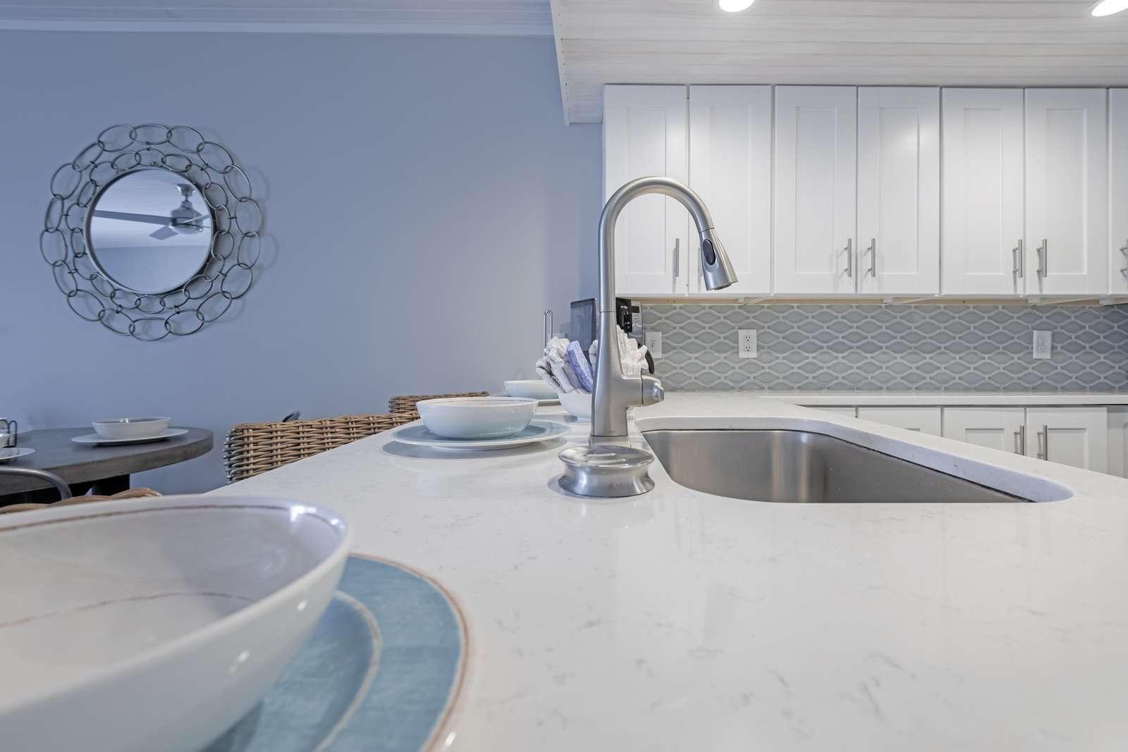 Fantastic granite countertops!