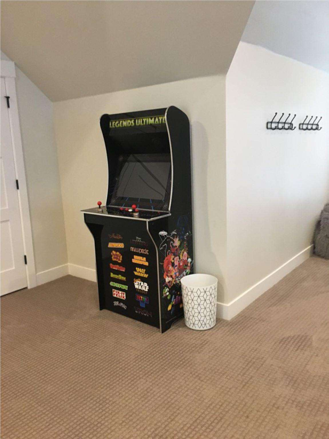 Arcade in rec room