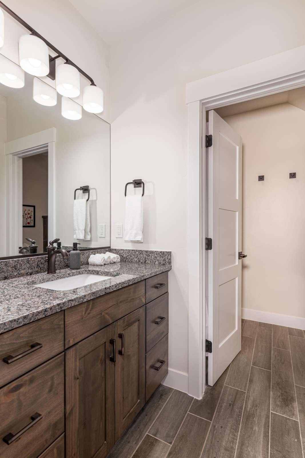 Full bathroom for Southeast bedroom