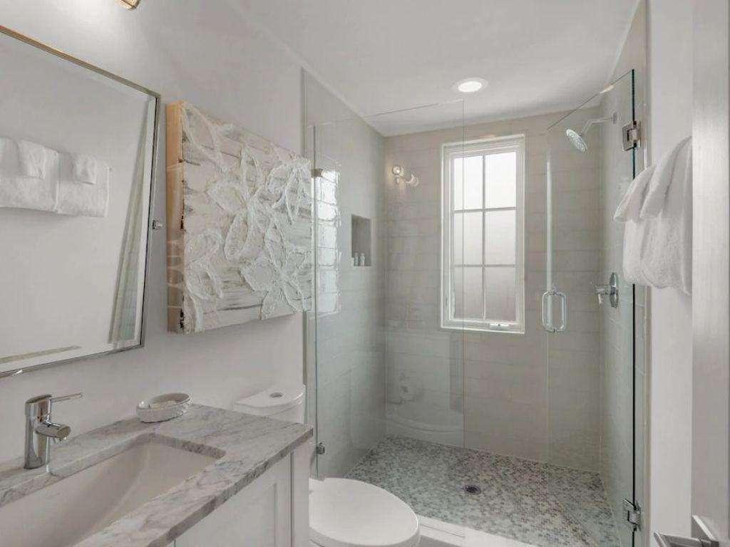 Bathroom off third Master