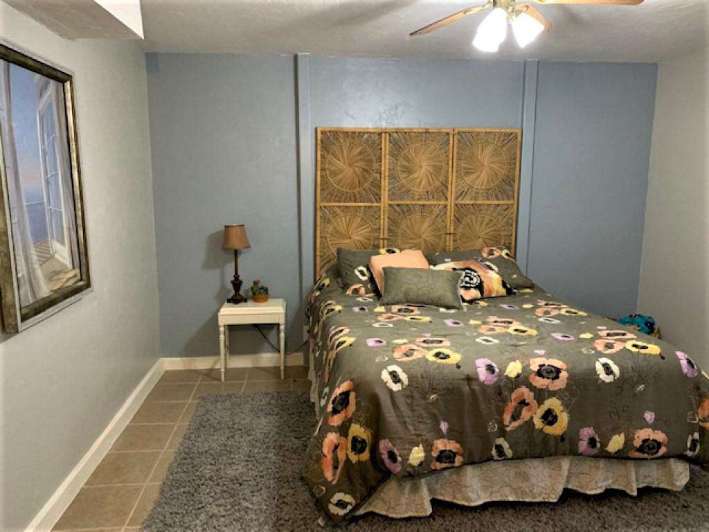 Fourth bedroom with queen bed