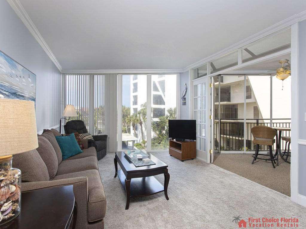 Anastasia 314 Living Room and Patio