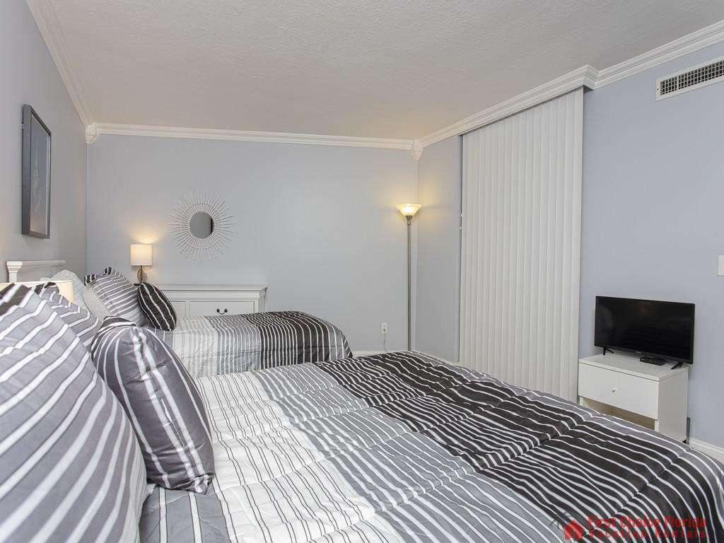 Anastasia 314 Guest Bedroom with TV