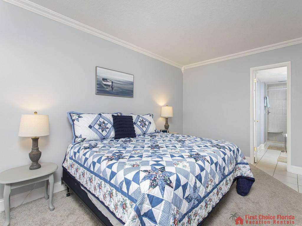 Anastasia 314 Master Bedroom with King Bed