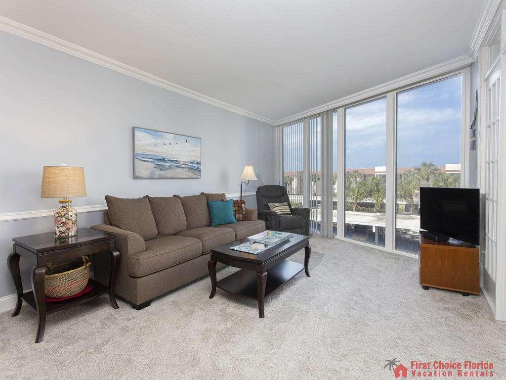 Anastasia 314 Living Room with TV