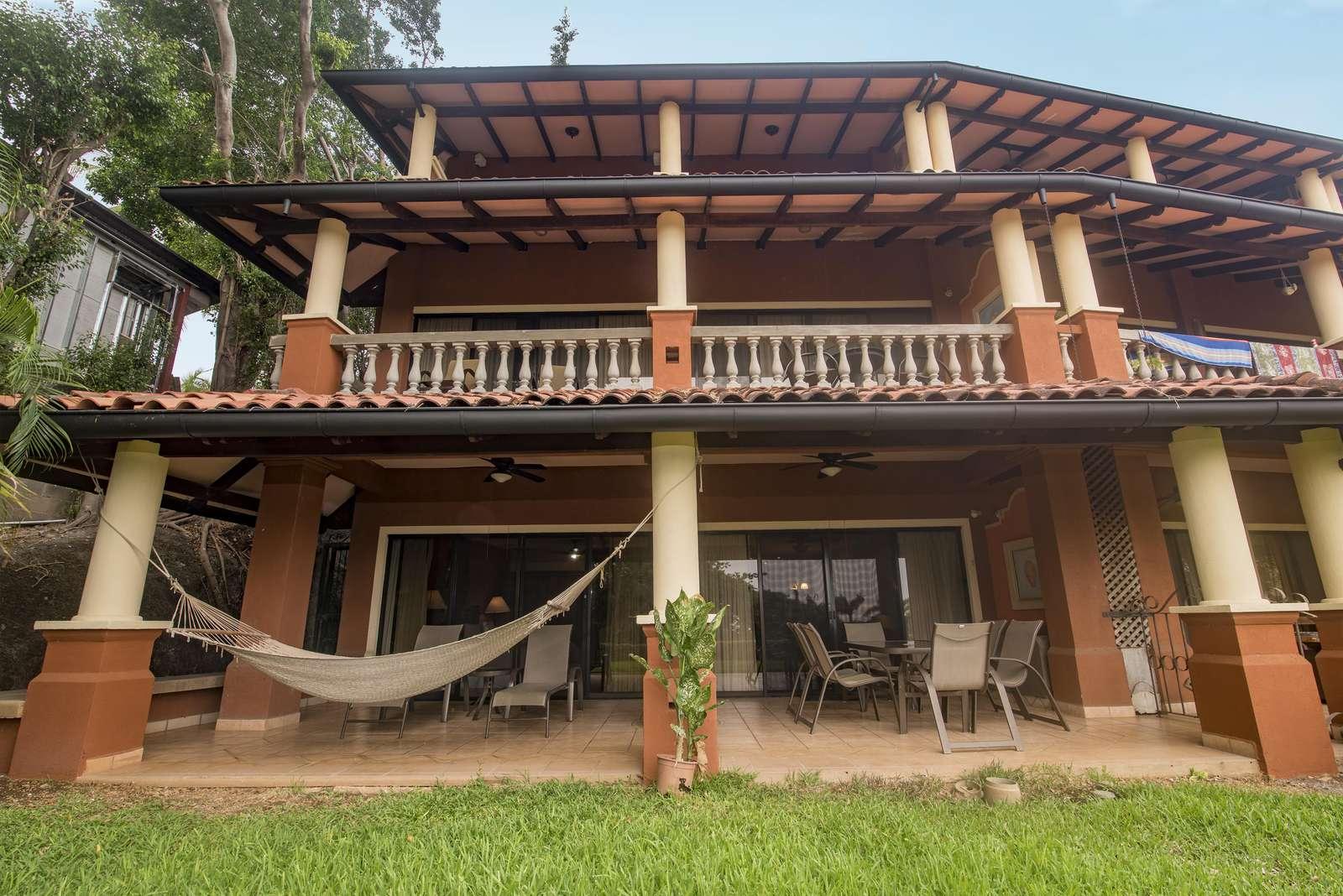 El Diria 511-Largest covered patio, end unit, ground level in the El Diria Building