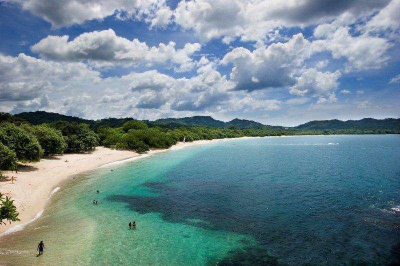 Playa conchal, north of Tamarindo