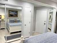 Bedroom sliding door closet with plenty of room thumb