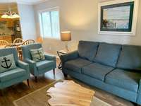 Pull out Sofa in Livingroom thumb