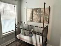 Home offers a Crib and High Chair for Baby thumb