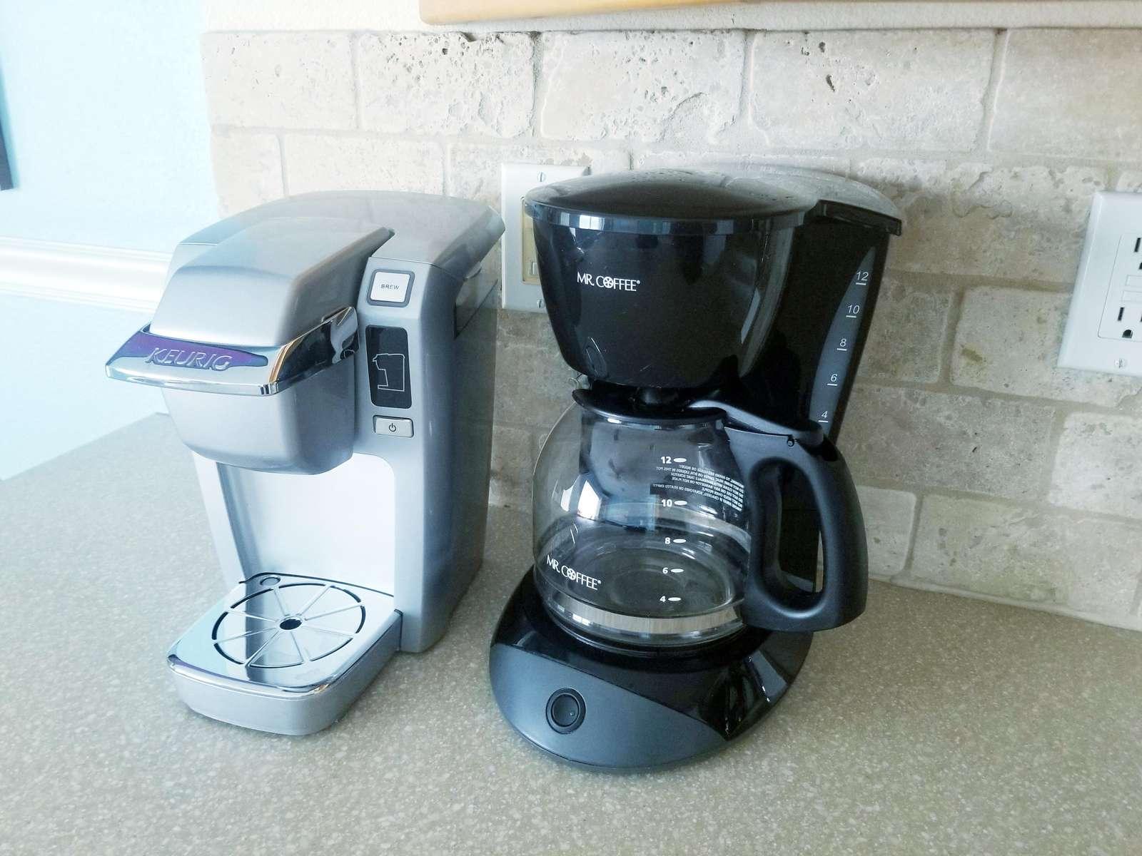 Coffee your way! Keurig or Drip Coffee Maker