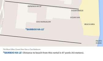 Google map view of ocean proximity to Bamboo Ha-le' thumb