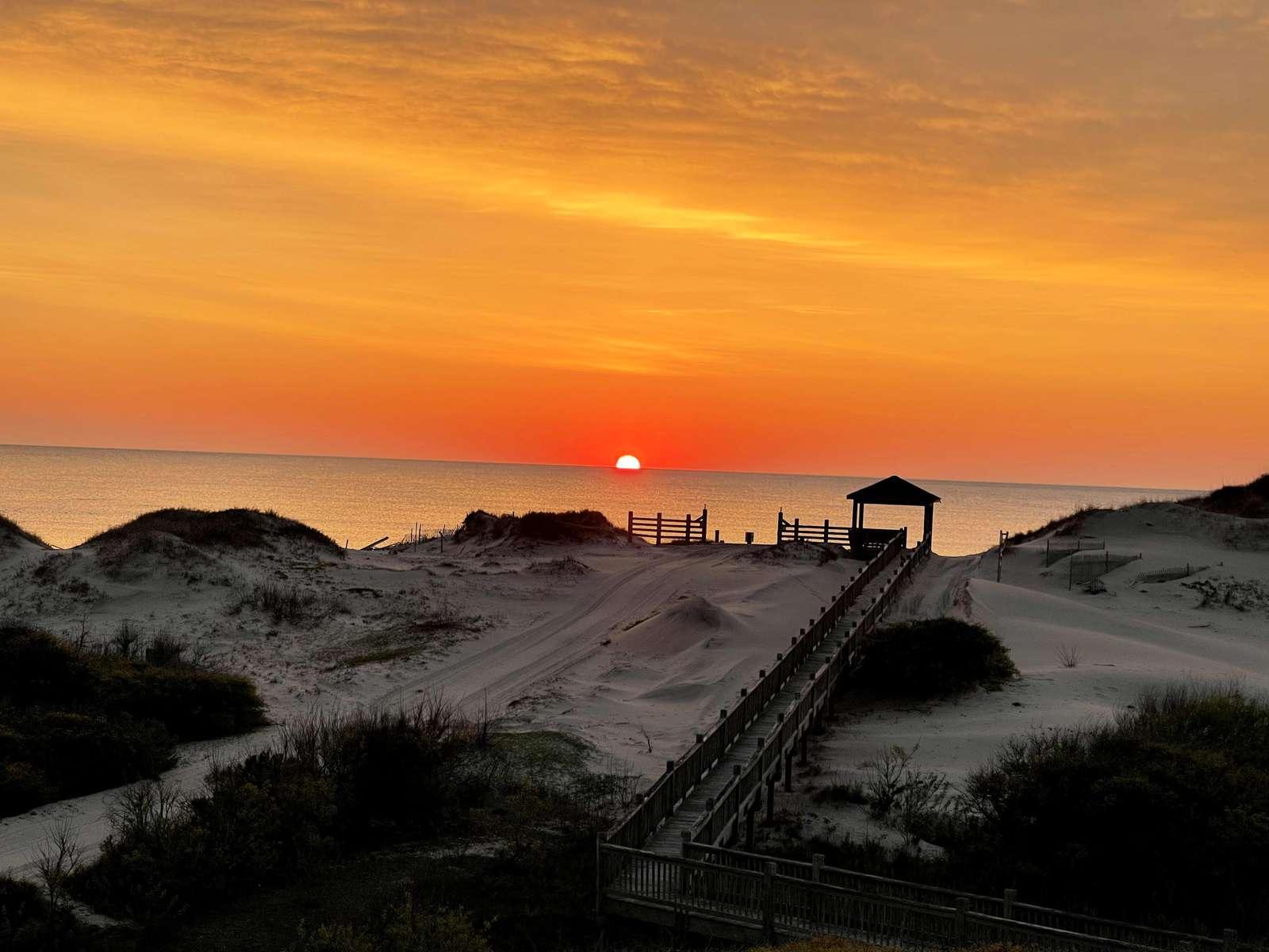 Sunset view at Mark Twain - property
