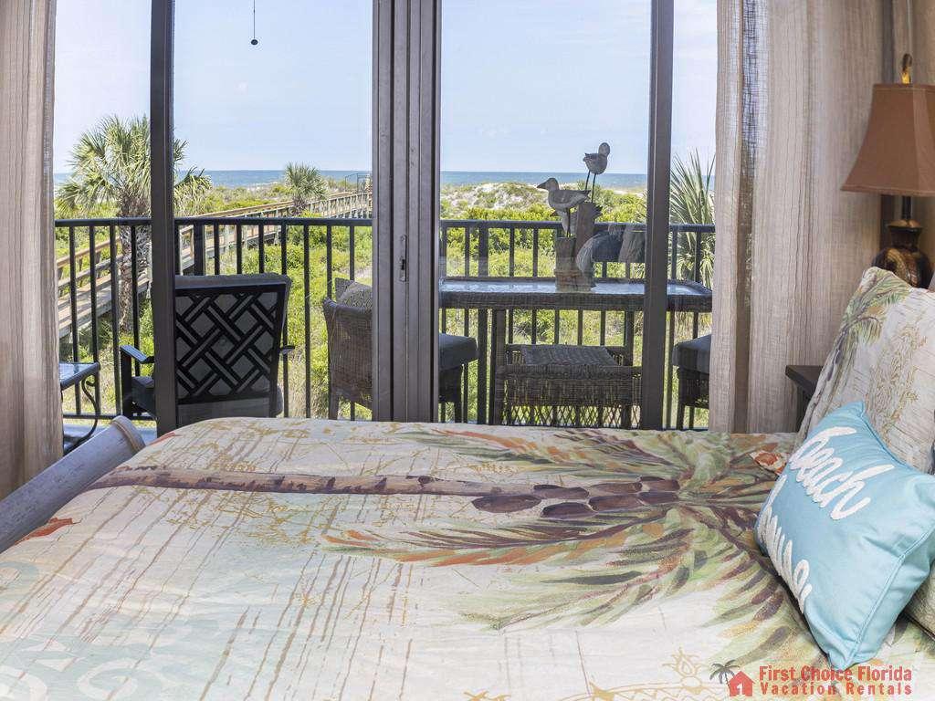 Captains Quarters - Master Bedroom View
