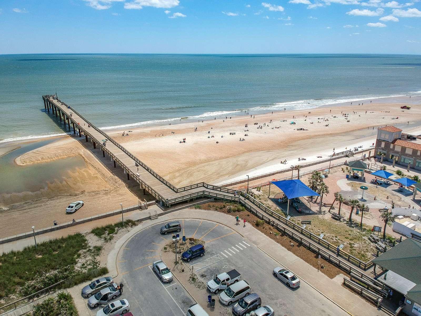 Aerial Photo of Pier/Splash Park