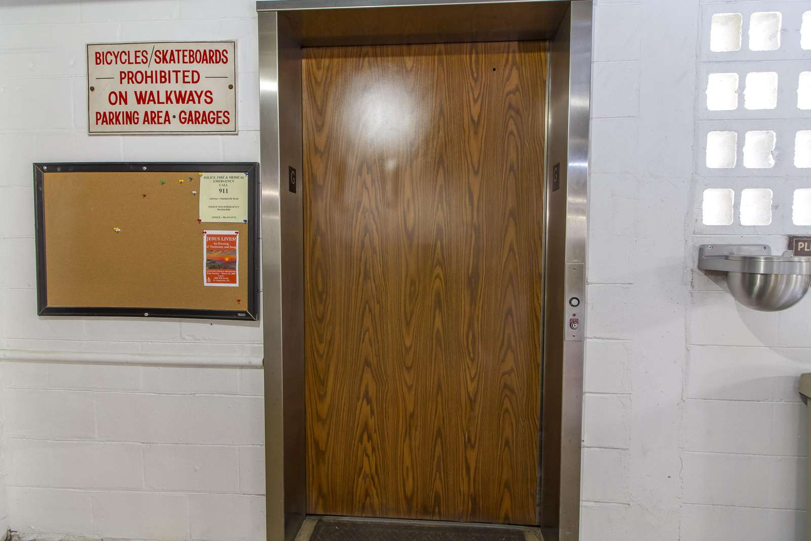Elevator Access to Unit