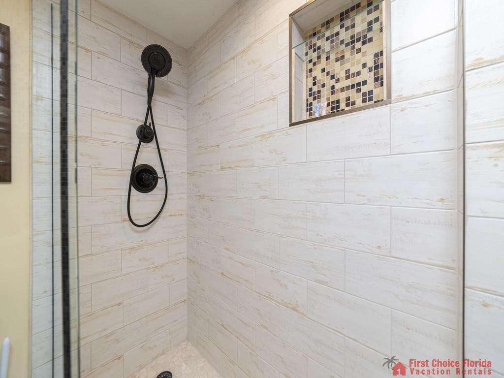 Captains Quarters - Guest Bathroom Walk-in Shower