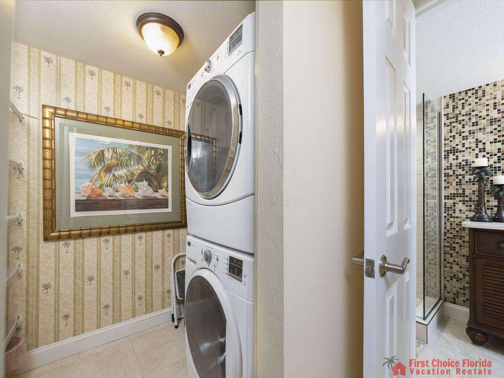 Captains Quarters - Washer and Dryer