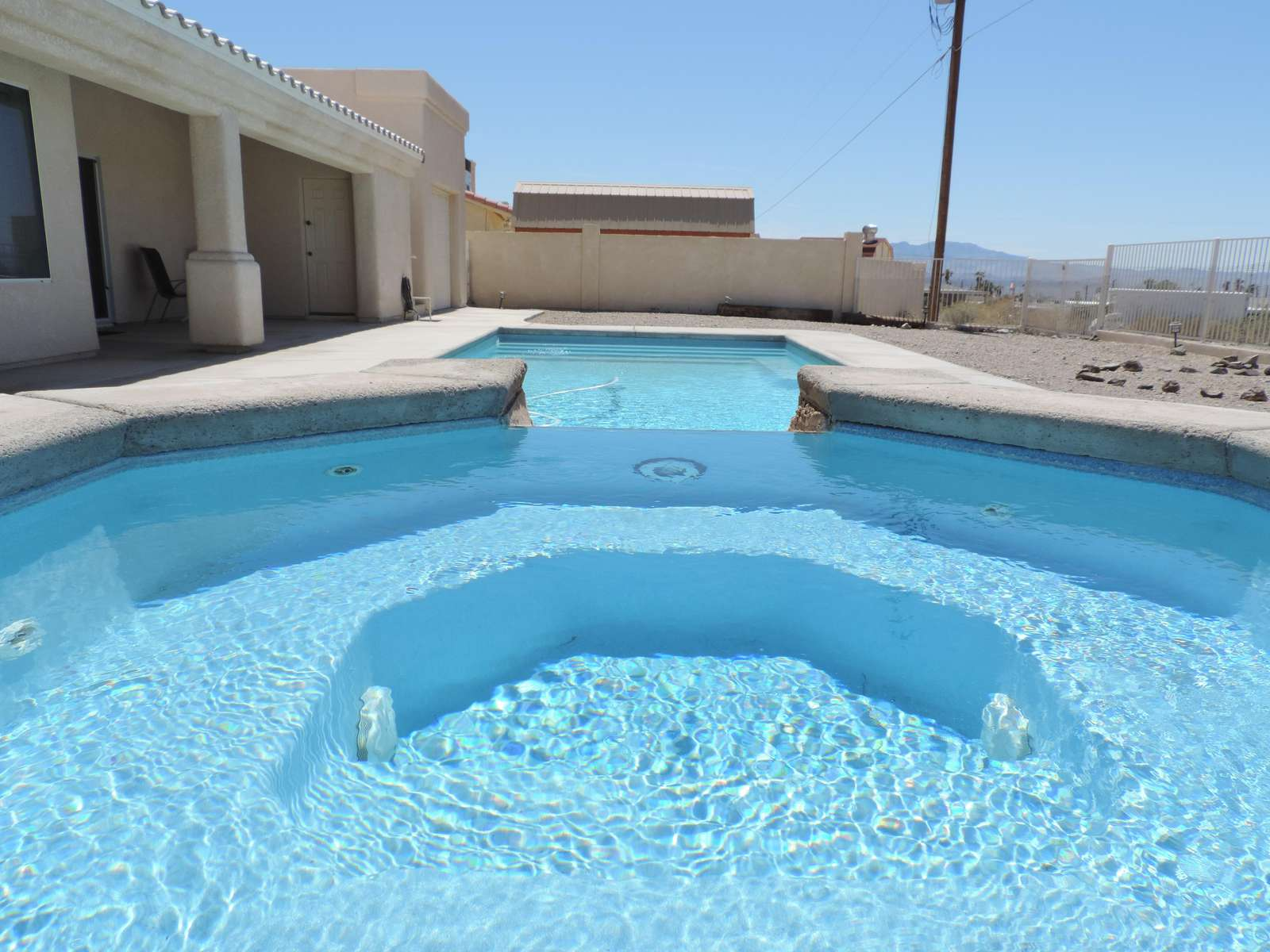 From Spa to Pool - what a view! - property