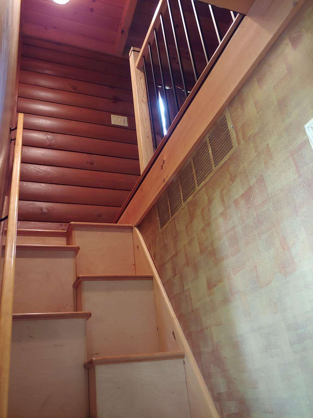 Steep Narrow Steps to 2nd floor loft