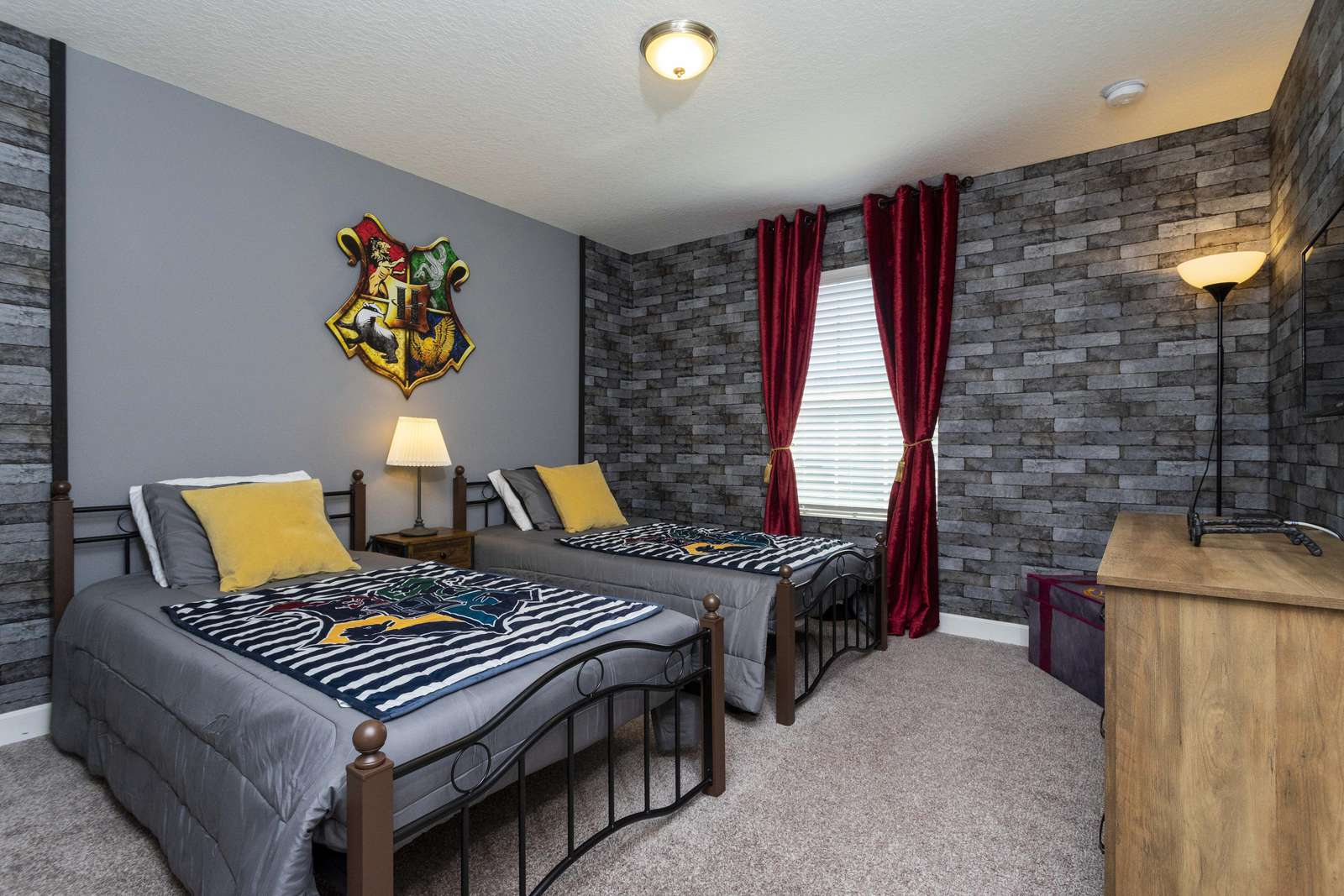 Harry Potter room 2 Twin Beds - property