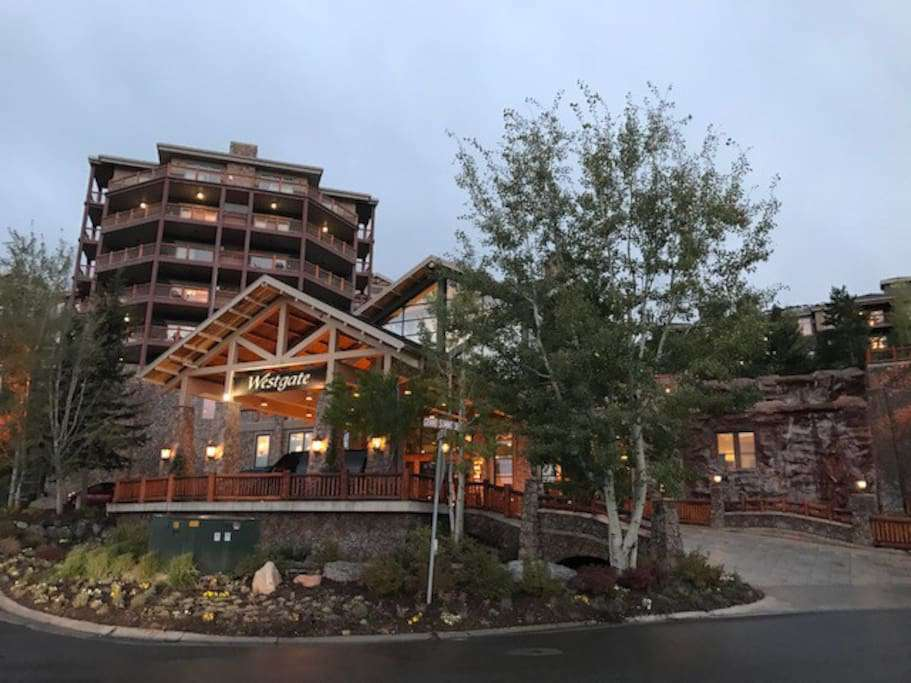 Westgate Resorts, Park City at the base of Canyons Village, walking distance to gondola and chairlifts