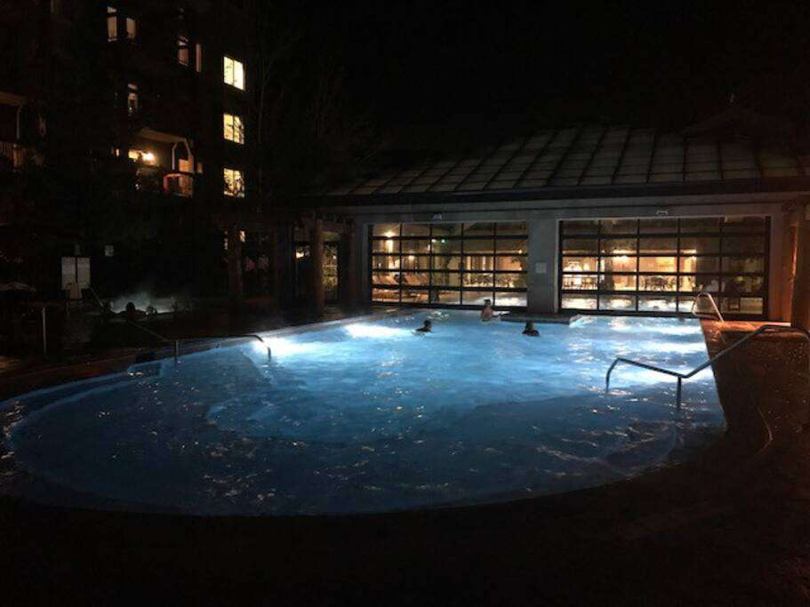 Indoor/Outdoor Pool for the whole family (one of 3 pools)