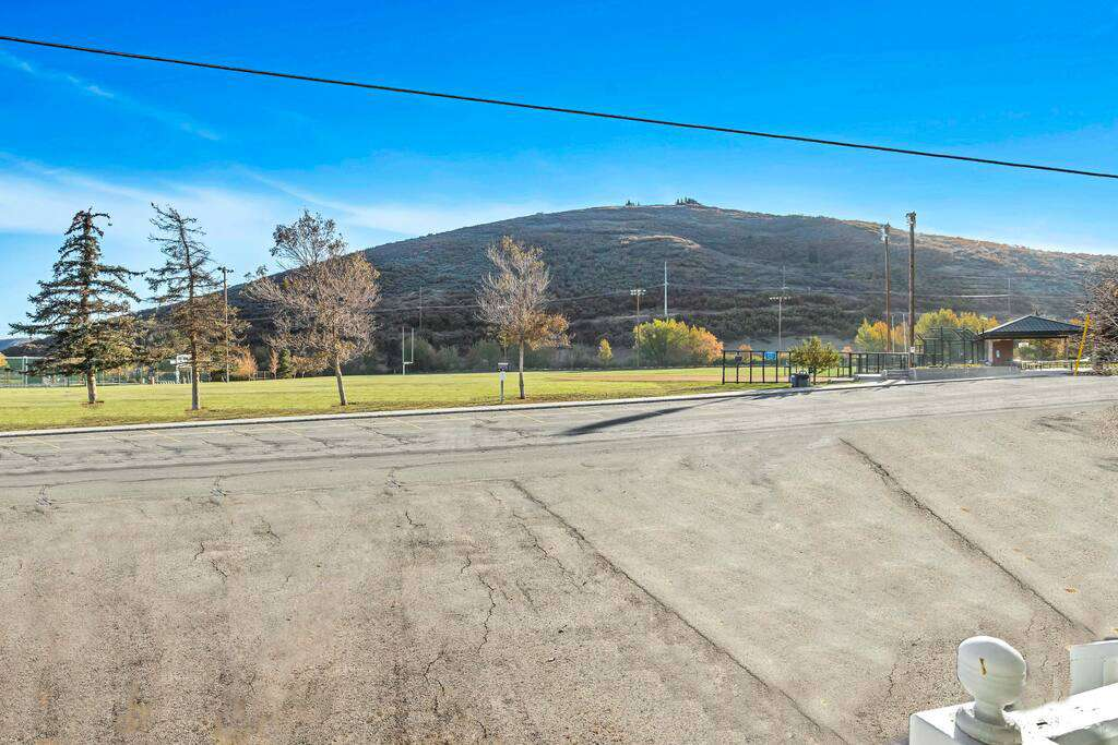 Open space, park, walking path to main street right out your back door!