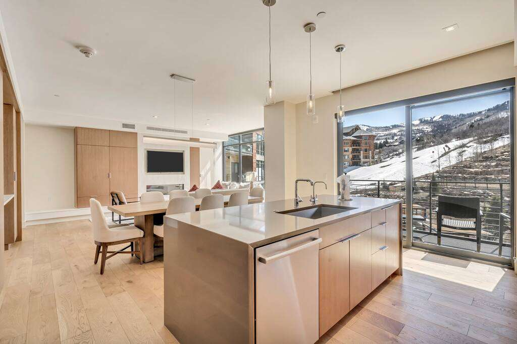 Kitchen at The Lift Residences Park City
