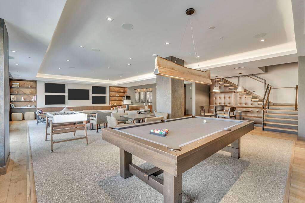 The Lounge/ Pool/ fussball at The Lift Residences Park City