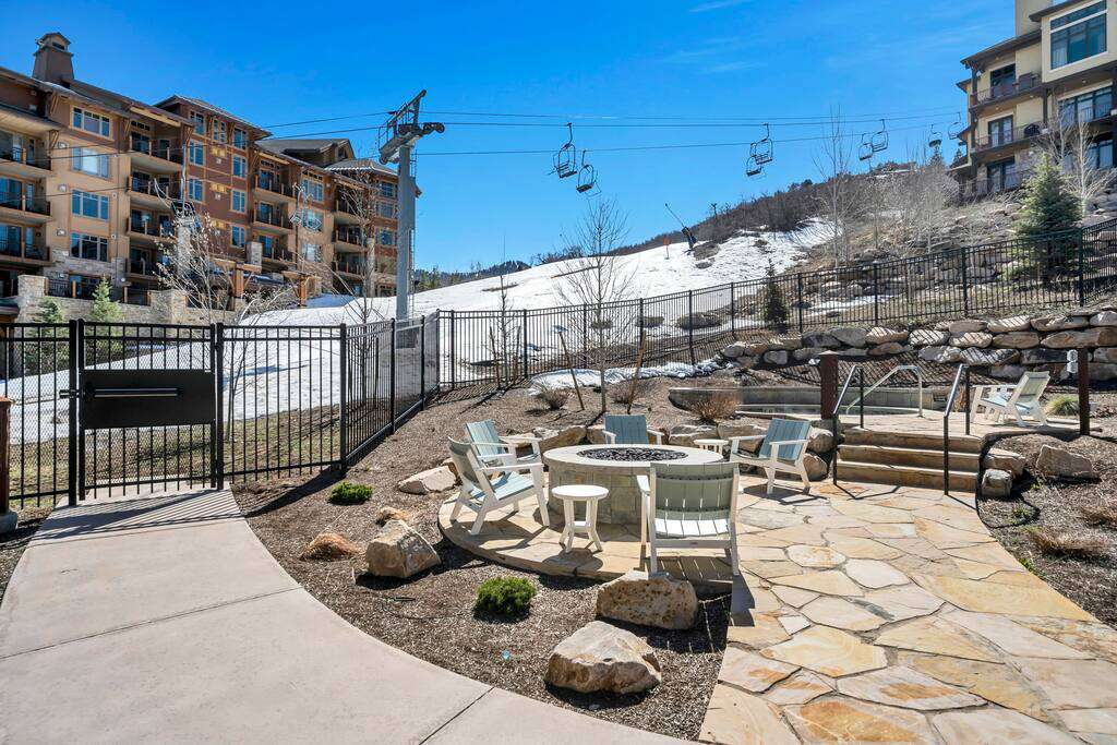 Pool Area at The Lift Residences Park City