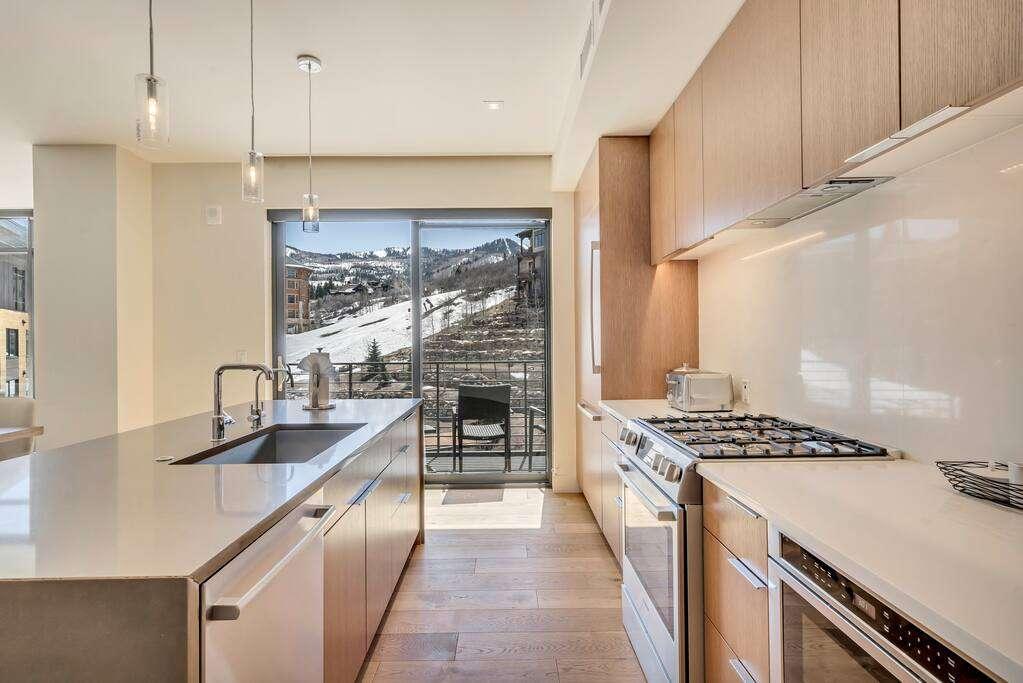 Kitchen/Balcony at The Lift Residences Park City
