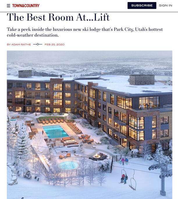 Press -The Lift Residences Park City