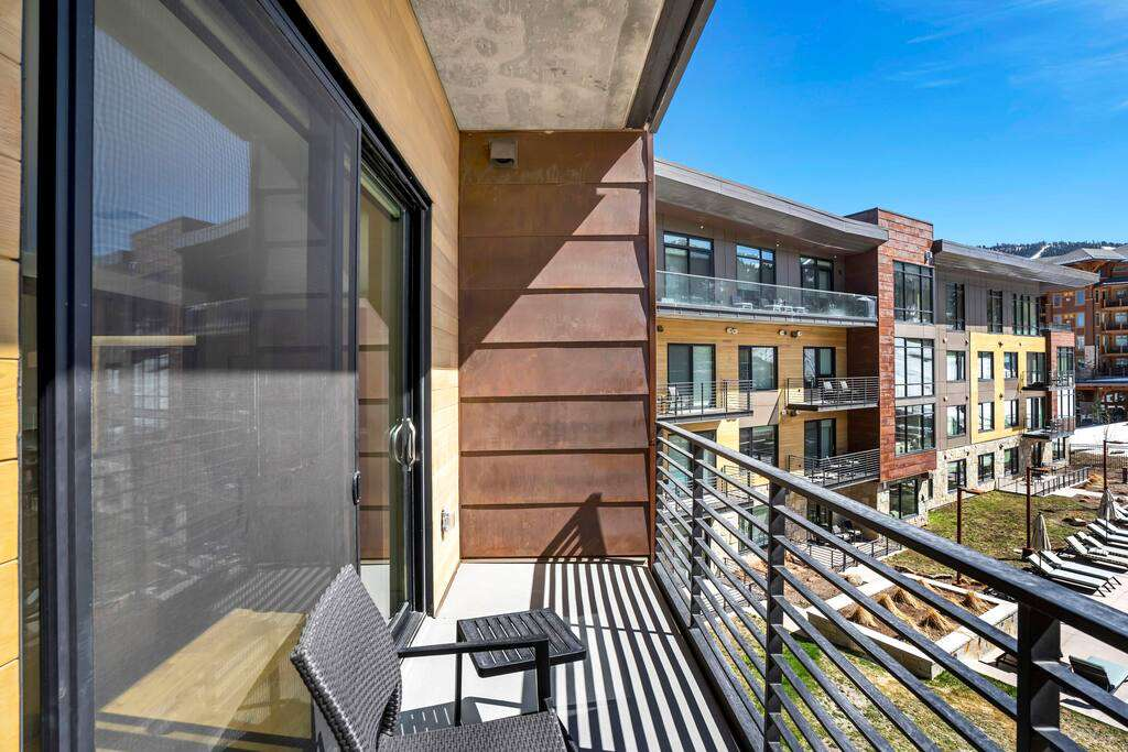 The Lift Residences Park City - Private Balcony