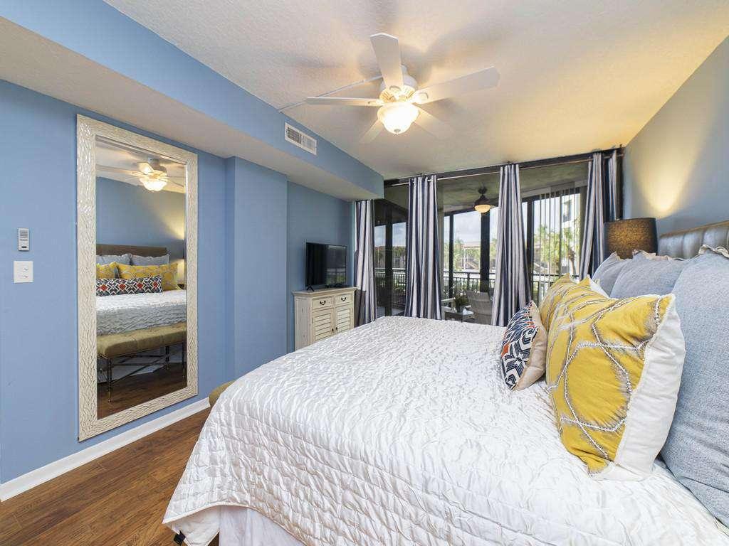 Anastasia Condos - Master Bedroom with Floor to Ceiling Windows