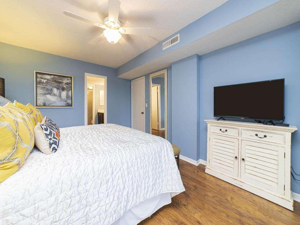 Anastasia Condos - Master Bedroom with TV