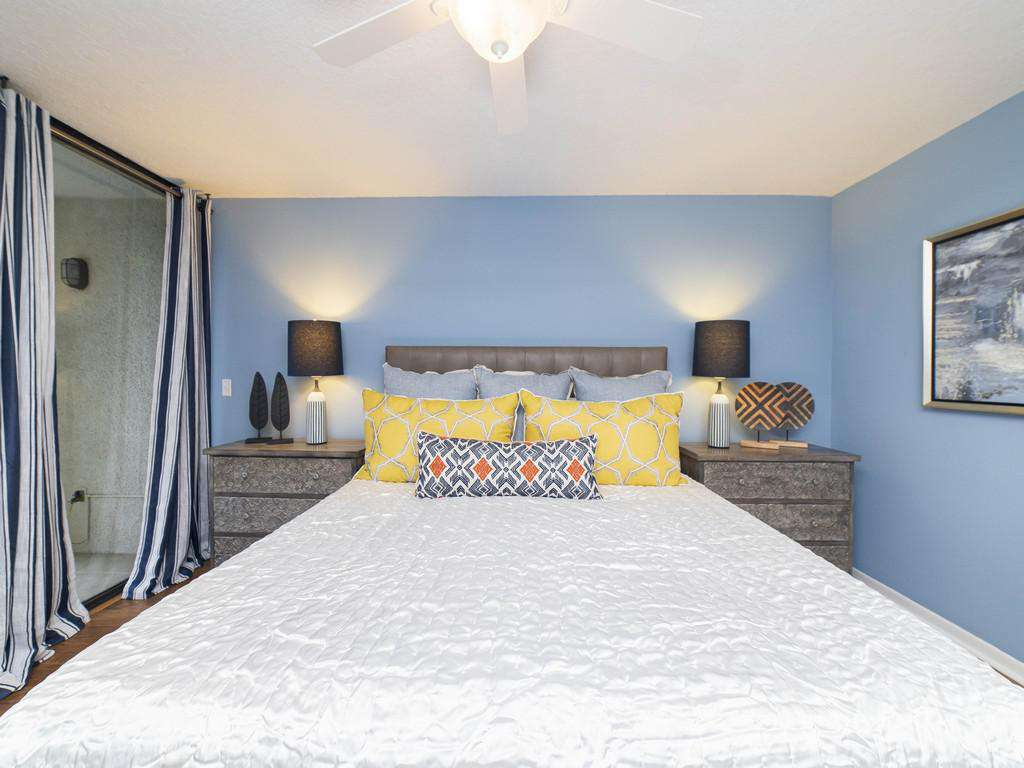 Anastasia Condos - Master Bedroom with King Bed