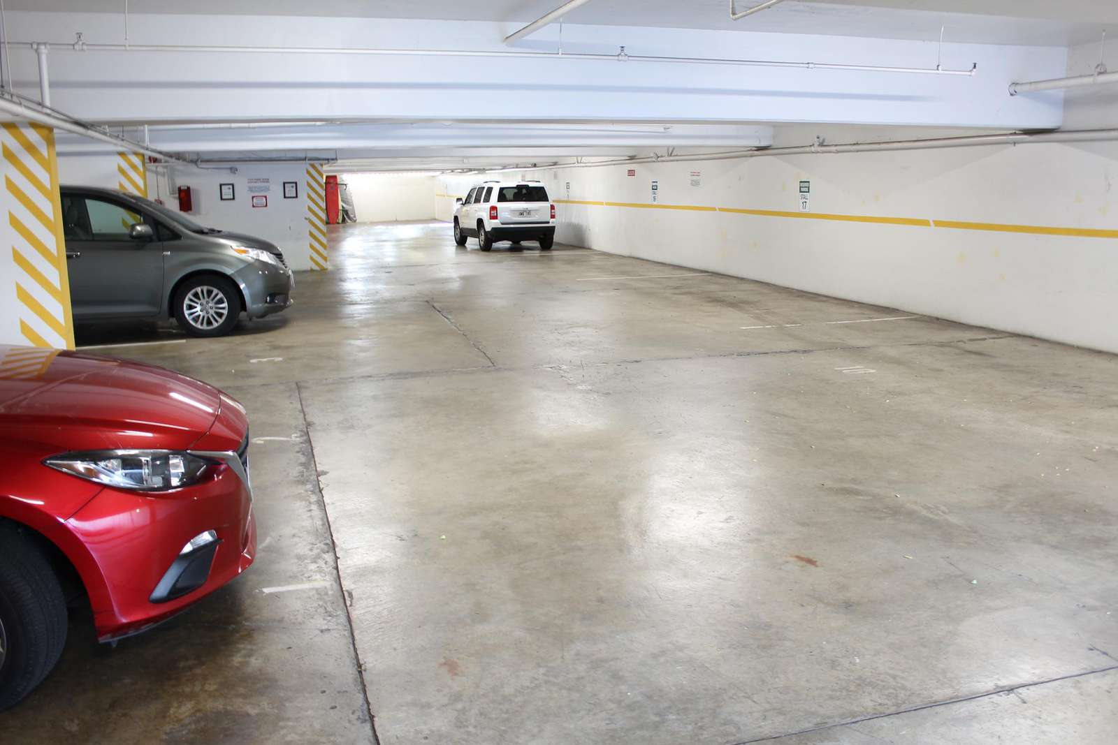 1 Compact space included - Please let us know if you have a car.