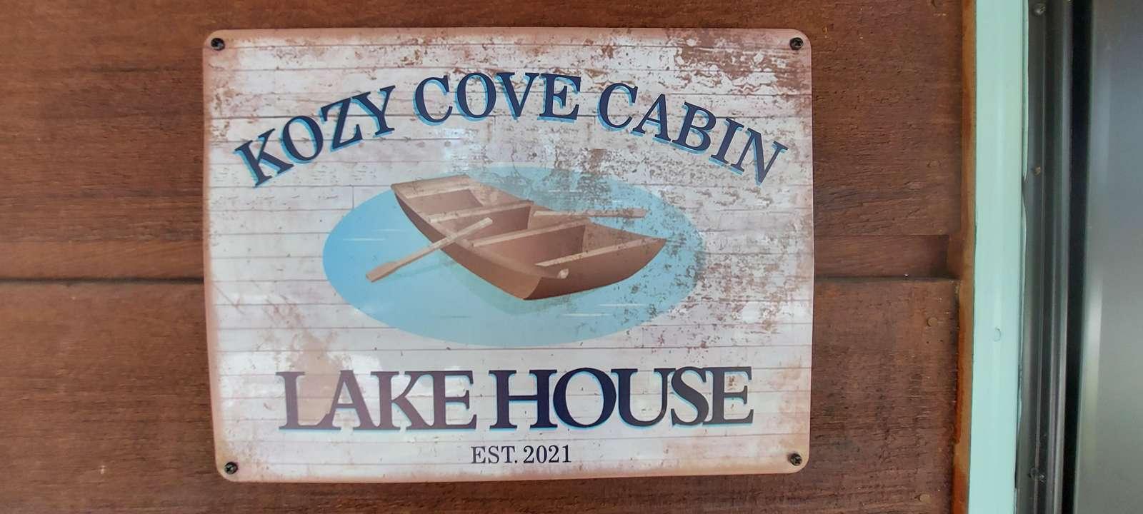 Kozy Cove Cabin - property
