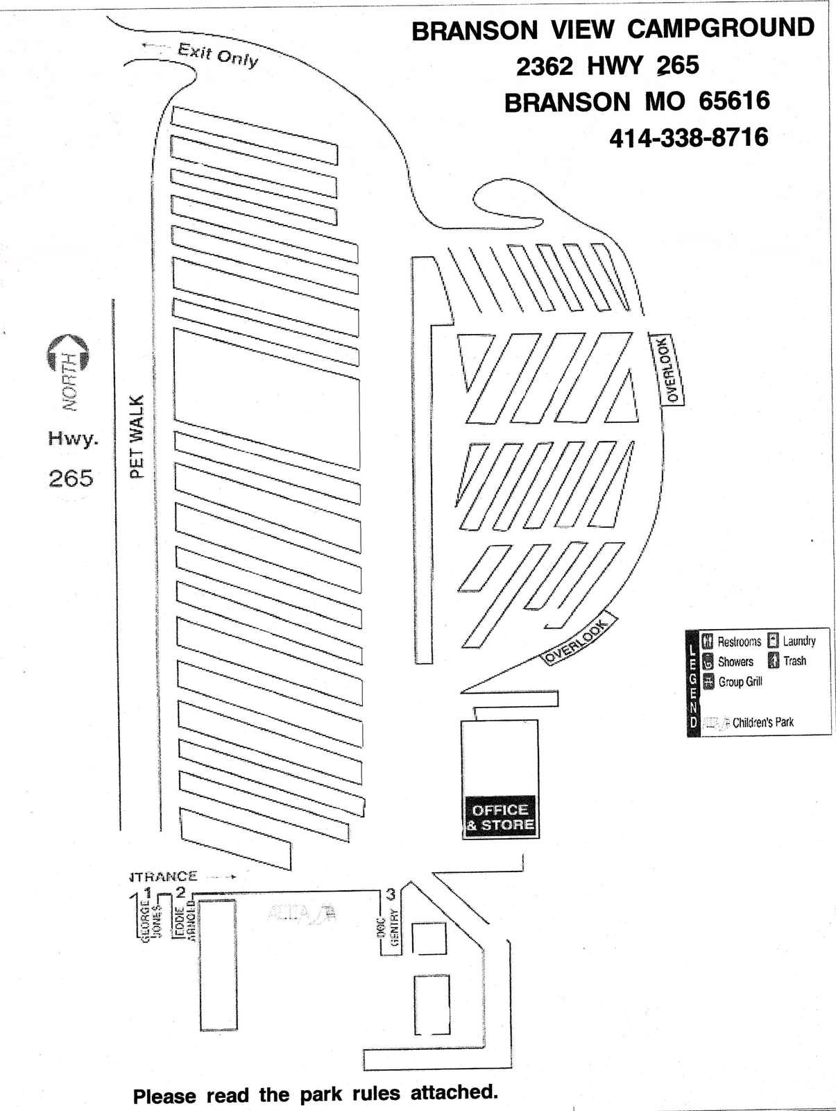 BVC-#37B – Spot for tent Setup - property