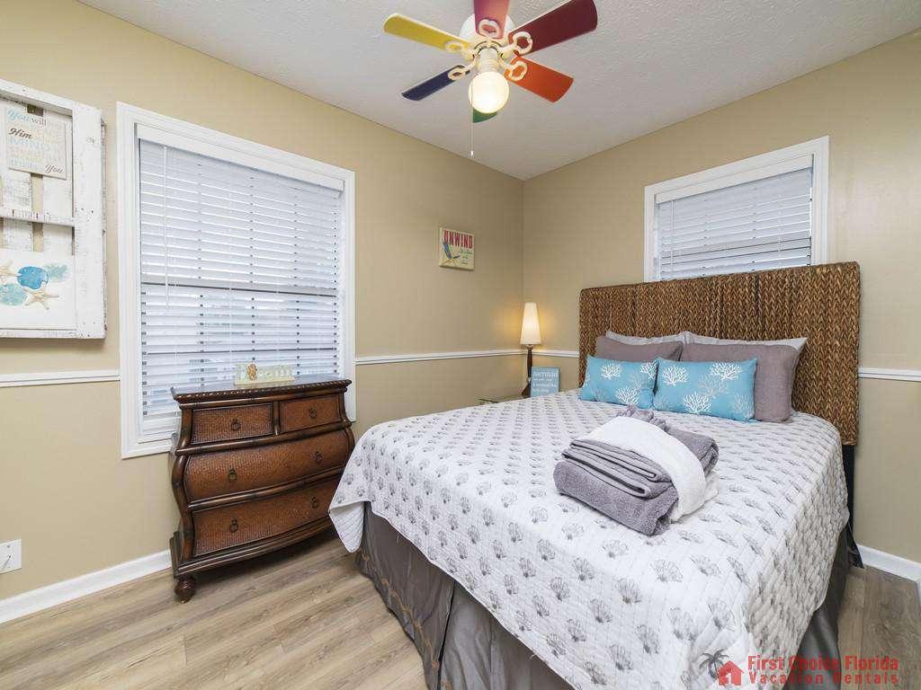 Sandy Feet Retreat - Guest Bedroom Second Floor