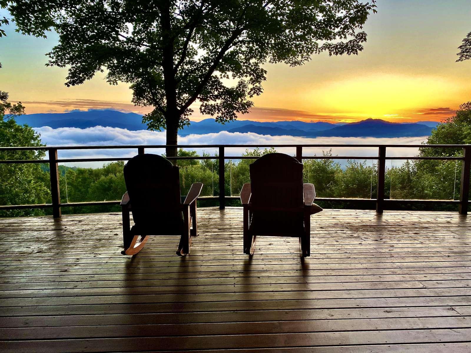 Smoky Mountain Sun Rise... - property